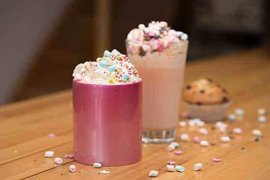 Unicon Latte Preperation