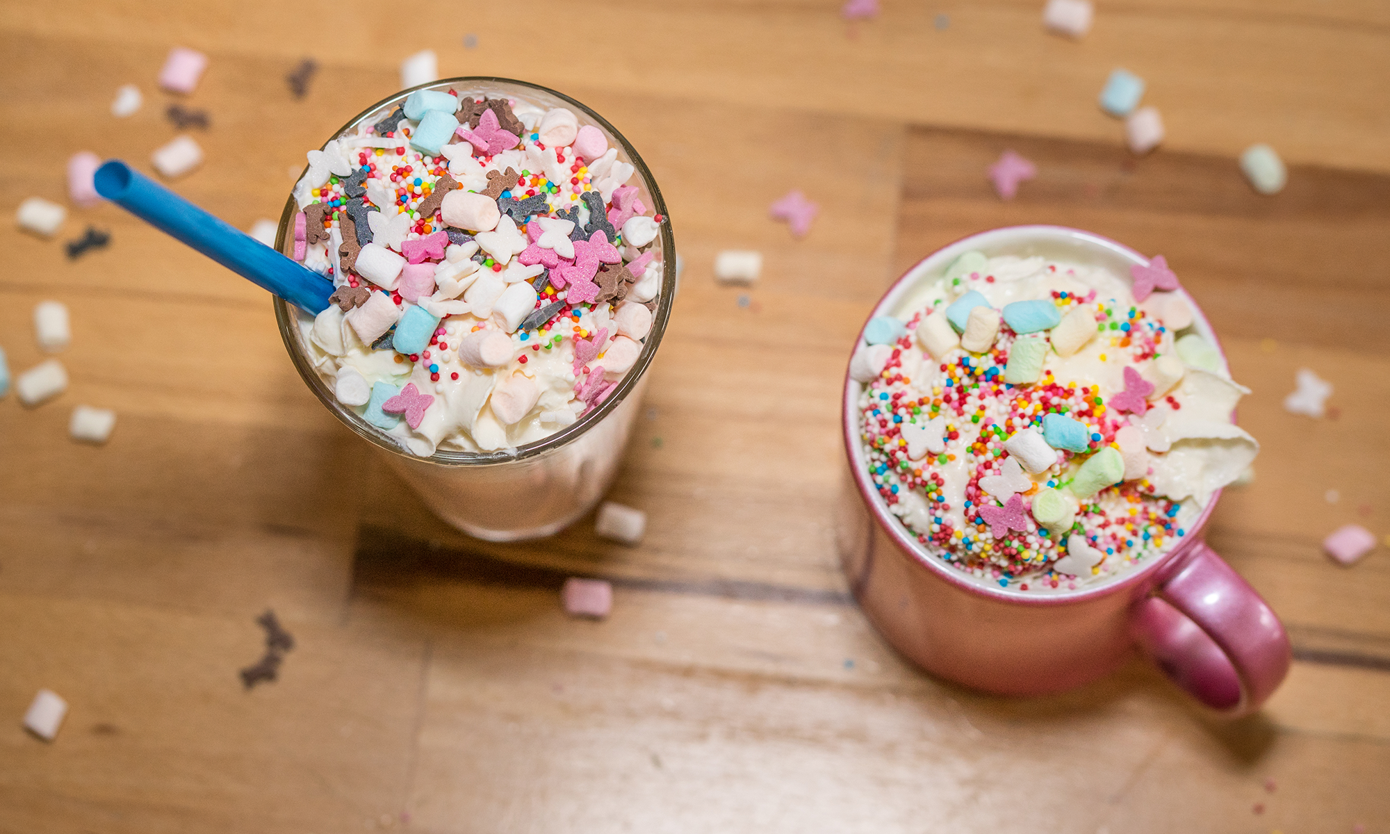 Unicorn Latte Recipe